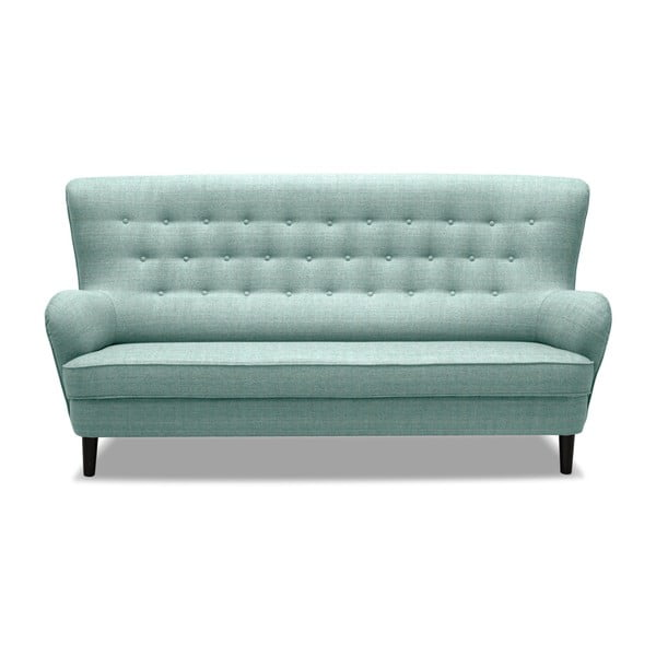 Jasnoturkusowa sofa 3-osobowa Vivonita Fifties