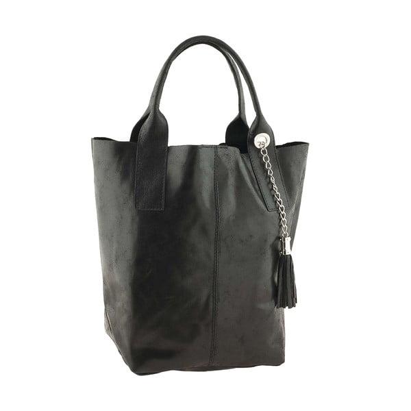 Skórzana torebka Genuine Black