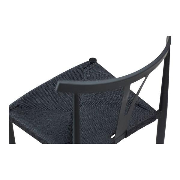Czarne krzesło DAN-FORM Denmark Alfa