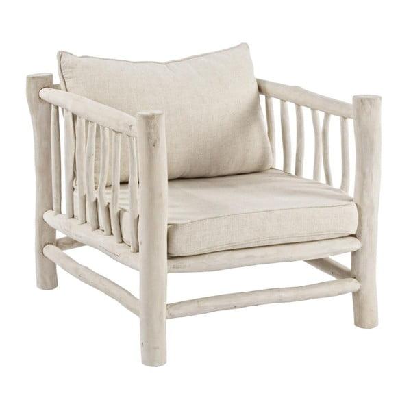 Fotel z drewna tekowego Bizzotto Sahel