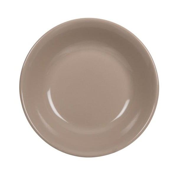 Komplet 18 talerzy ceramicznych Amelie Beige