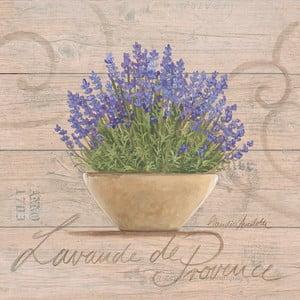 Obraz na płótnie Lavande De Provence 20x20 cm