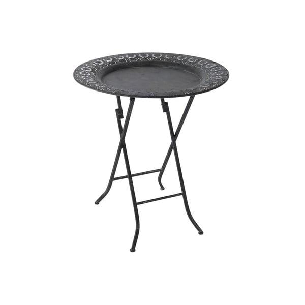 Składany stolik Antic, czarny