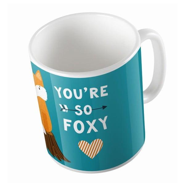 Ceramiczny kubek So Foxy, 330 ml