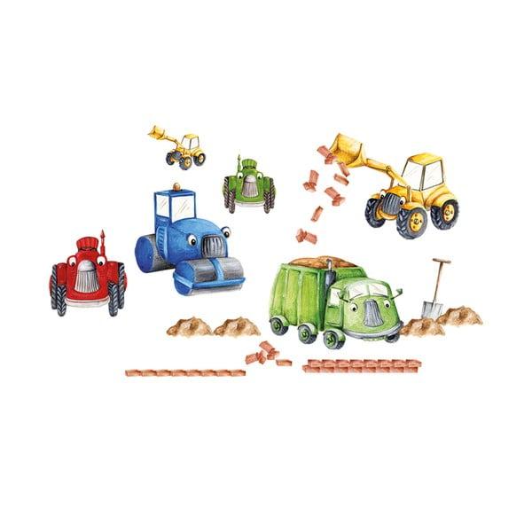 Naklejka dekoracyjna Tractors & Trucks