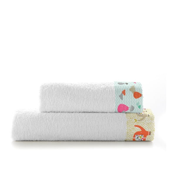 Zestaw 2 ręczników Elephant Parade, 500x100 i 70x140 cm
