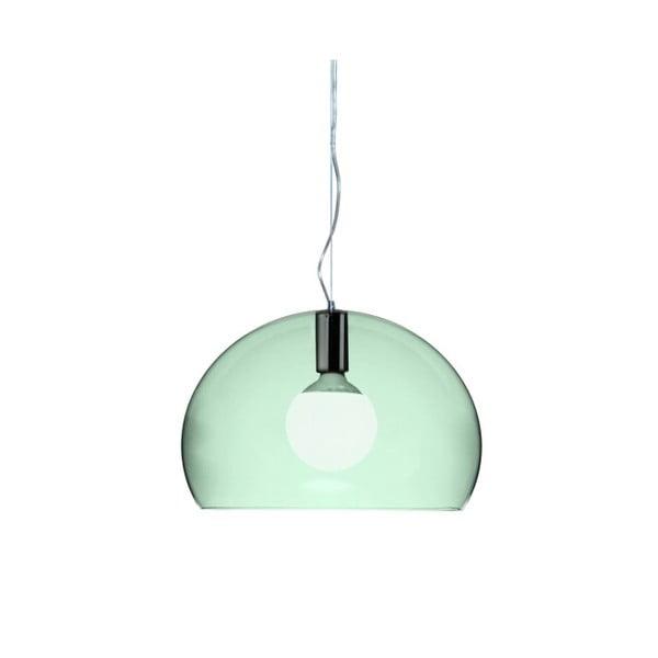 Mała zielona lampa wisząca Kartell Fly