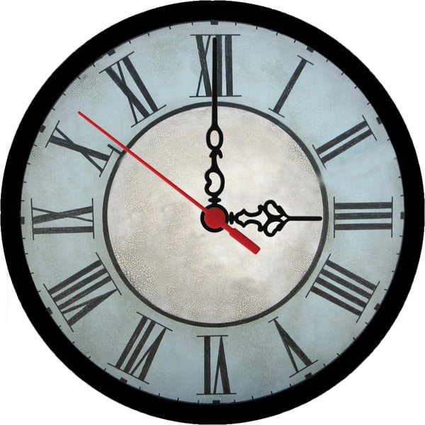 Zegar ścienny Vintage Bold, 30 cm