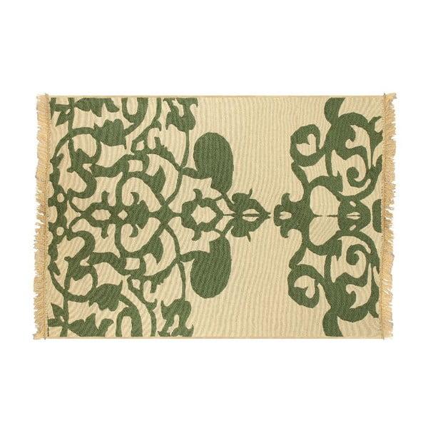 Dywan Agac Green Beige, 80x150 cm