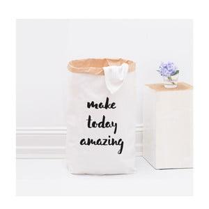 Papierowy kosz Make today amazing