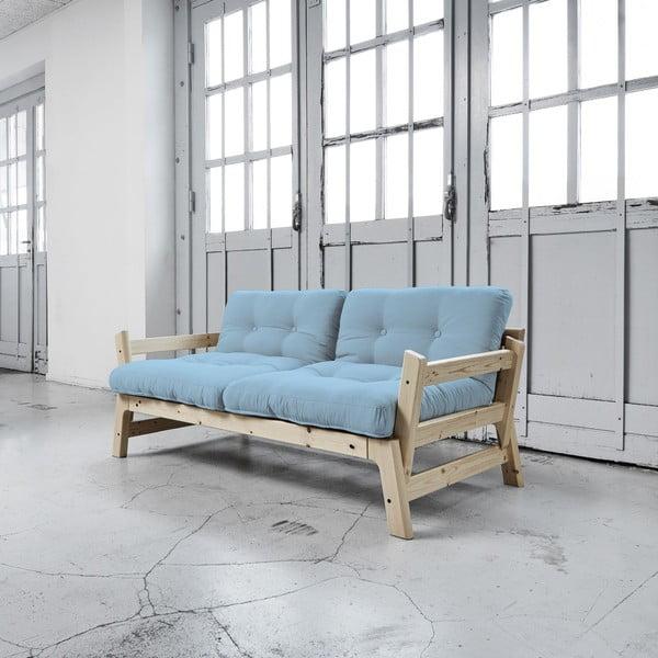 Sofa rozkładana Karup Step Natural/Celeste