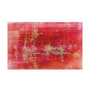 Winylowy dywan Grunge Rojo, 99x120 cm