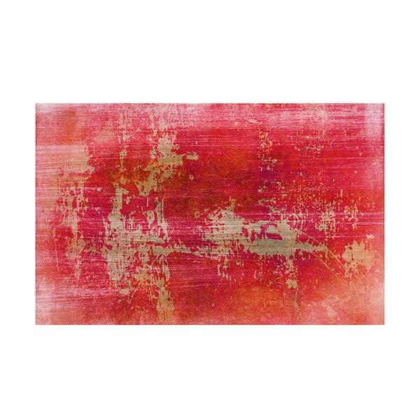 Winylowy dywan Grunge Rojo, 100x150 cm