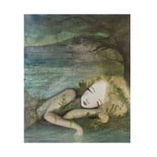 Autorski plakat Lény Brauner Marzenia senne, 51x60 cm