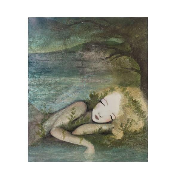Autorski plakat Lény Brauner Marzenia senne, 60x70 cm