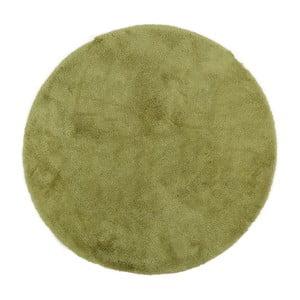Zielony dywanik łazienkowy Confetti Bathmats Miami, ⌀ 100 cm