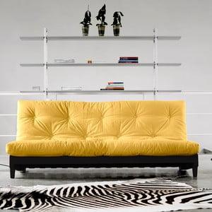 Sofa rozkładana Karup Fresh Wenge/Amarillo