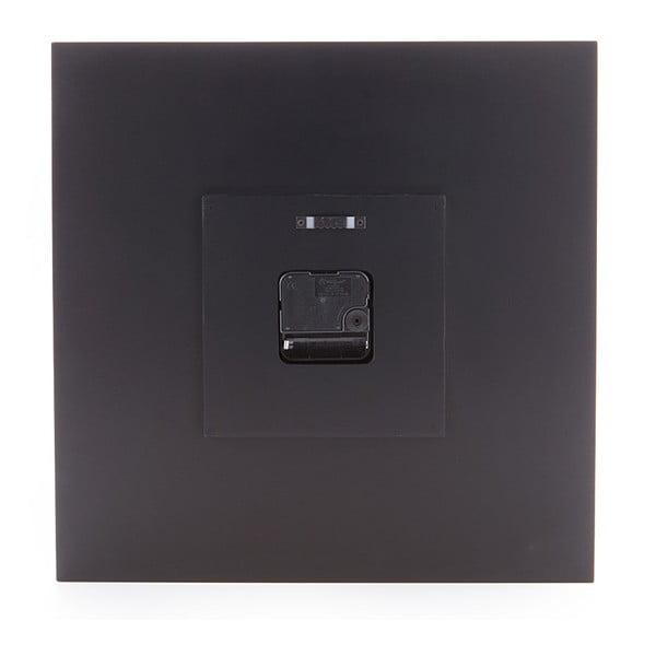 Czarny zegar ścienny Tomasucci Mix