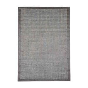 Szary wytrzymały dywan Webtapetti Chrome, 160 x 230 cm