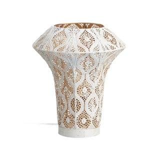 Lampa stołowa Ixia White Etnic, 30,5cm