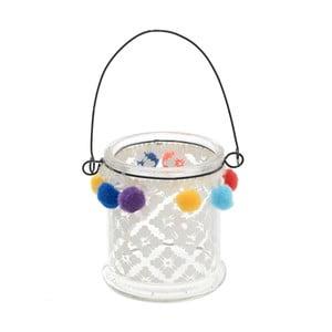 Świecznik szklany InArt Boho Apala, średnica  10cm