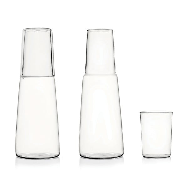 Szklana karafka ze szklanką Torre