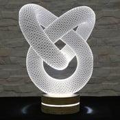Lampa 3D stołowa Pretzel