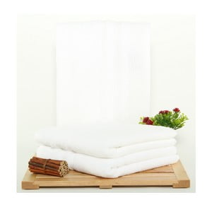 Zestaw 3 ręczników Hidrophile White, 50x100 cm