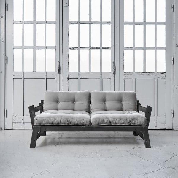 Sofa rozkładana Karup Step Black/Gris