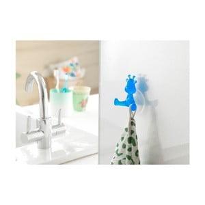 Niebieski haczyk z przyssawkami w kształcie żyrafy Compactor
