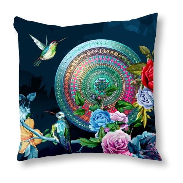 Dwustronna poszewka na poduszkę z satyny bawełnianej Muller Textiels Chachou, 50x50 cm