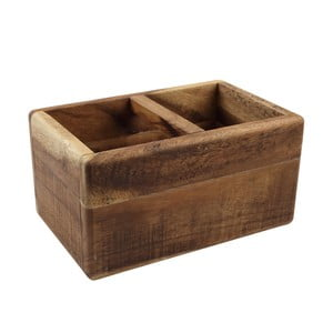 Drewniany stojak na sztućce T&G Woodware Nordic Natural Trug