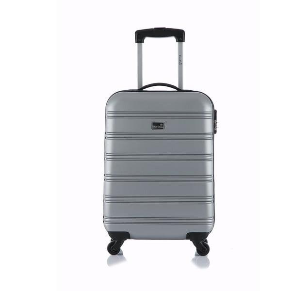 Szara walizka podręczna Blue Star Bilbao
