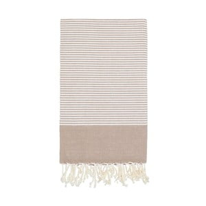 Ręcznik hammam Side Beige, 100x180 cm