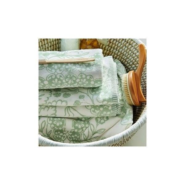 Ręcznik Pip Studio Lacy Dutch, 55x100 cm, zielony