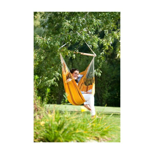 Krzesło-Hamak  Currambera, żółty