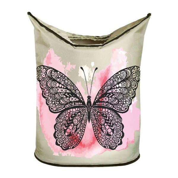 Kosz na bieliznę Black Butterfly