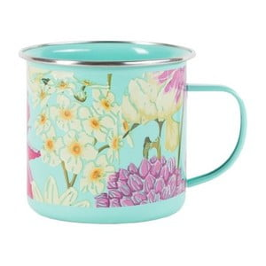Emaliowany kubek Floral