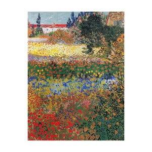 Reprodukcja obrazu Vincenta van Gogha – Flower garden, 40x30 cm