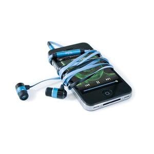 Słuchawki hi-Earphones, niebieskie