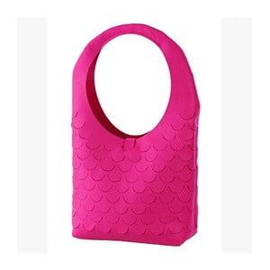 Filcowa torebka, różowa