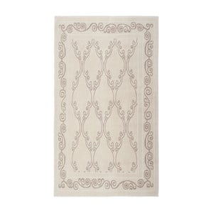 Kremowy dywan bawełniany Floorist Gina, 120 x180cm