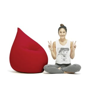 Worek do siedzenia Elly Terapy, czerwony