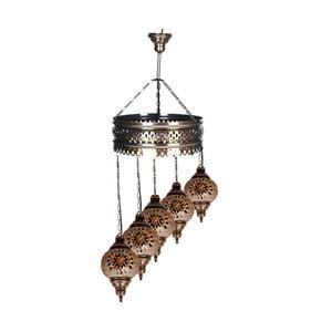 Szklana lampa Fishing XVI