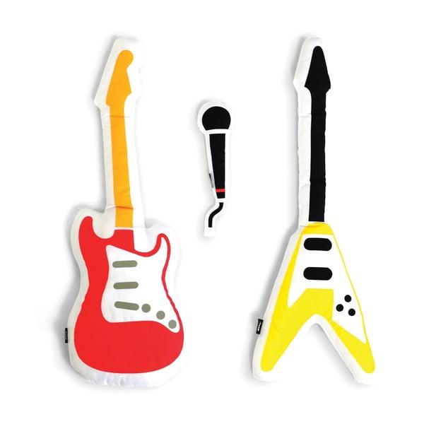 Zestaw gitar-poduszek