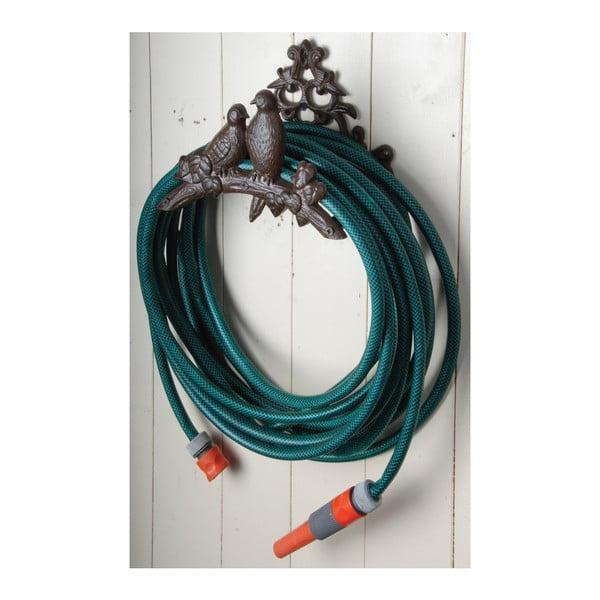 Wiszący uchwyt żeliwny na wąż ogrodowy Esschert Design