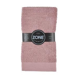 Różowy ręcznik Zone, 100x50 cm
