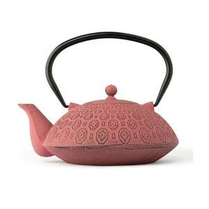 Różowy   czajnik żeliwny Bredemeijer Yinan, 1,2 l