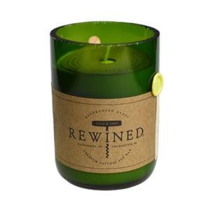 Świeczka Rewined Candles Chardonnay, 80 godz.
