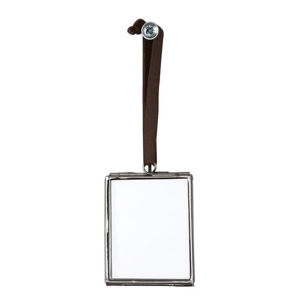 Wisząca ramka na zdjęcia Rex London Brass, 5,5x4,5cm
